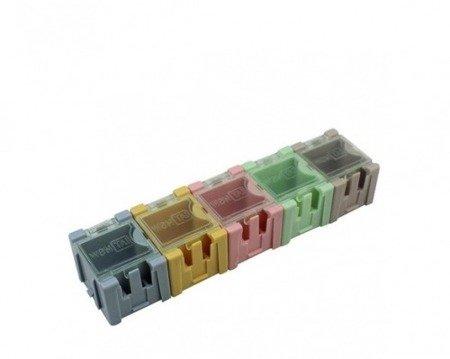 Pudełko do przechowywania elementów SMD - 32x26x22mm z pokrywką