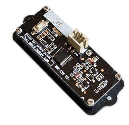 Miernik pojemności baterii litowych 8-63V i akumulatorów kwasowych 2-48V - obudowie
