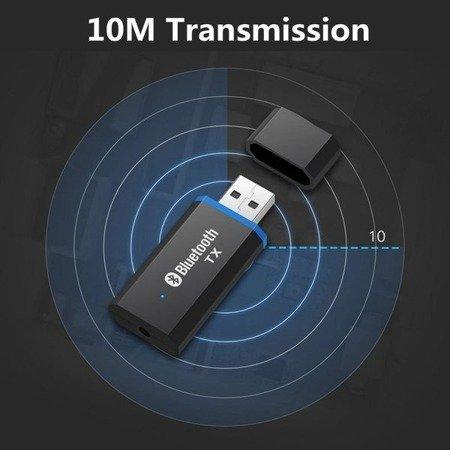 Adapter Audio / Bluetooth 5.0 USB - AUX - kabel mini-Jack 3.5mm - do samochodu, głośników