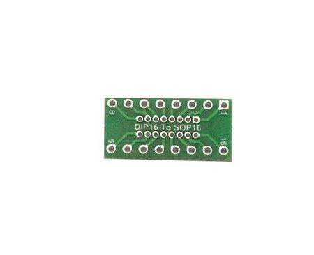 Adapter przejściówka DIP16 na SO16 - bez pinów