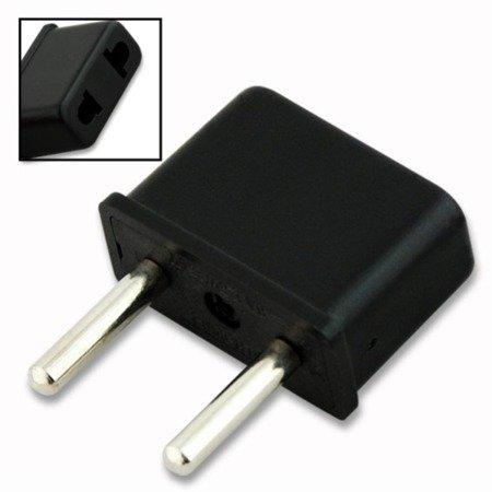 Adapter - przejściówka USA na EU - Amerykańska wtyczka na PL
