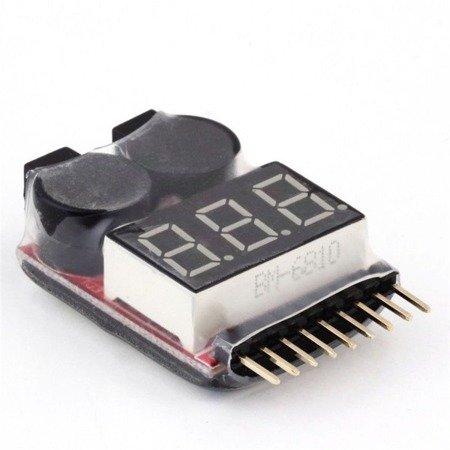 Alarm Buzzer LiPo - lipo alarm 8s - miernik napięcia cel z alarmem