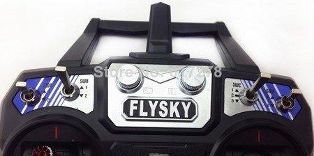 Aparatura FlySky FS-i6 6CH - Telemetria - 2,4GHz Mode 2 - LCD + odbiornik FS-iA6B