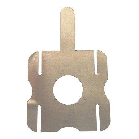Blaszka do zgrzewania ogniw - kształt 'kwadrat' - do lutowania i zgrzewania ogniw 18650