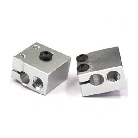 Blok Grzejny głowicy E3D V6 - 20x20x12mm - HOTEND - RepRap MK7/MK8