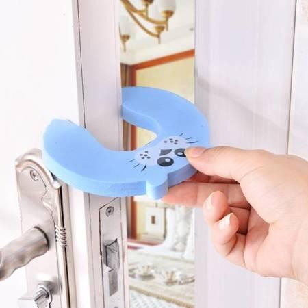 Blokada do drzwi - piankowa Biedronka - Zabezpieczenie - Stoper do drzwi