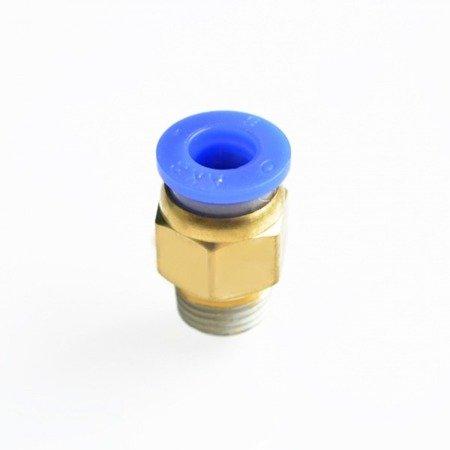 Bowden złącze - końcówka pneumatyczna PC6-M10*1.5 - 6mm - Drukarka 3D