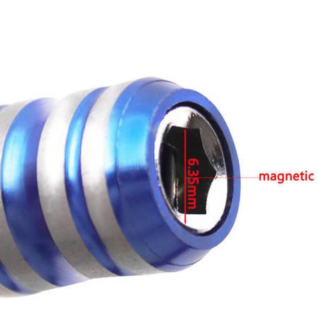 Breloczek z mini kluczem nasadowym 6.35mm - Brelok do kluczy dla mechanika