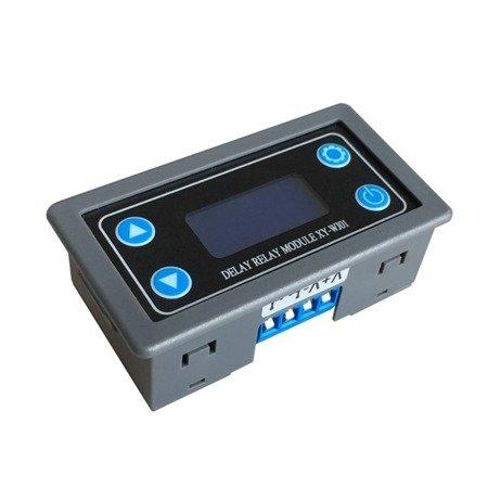 Cyfrowy Timer czasowy 6-30V - XY-WJ01 - moduł przekaźnika opóźniającego