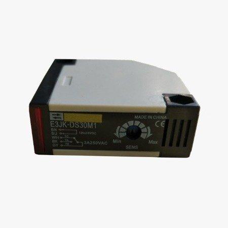 Czujnik fotoelektryczny odbiciowy E3JK-DS30M1 -  OMRON - do 30 cm - PNP
