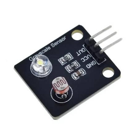 Czujnik skali szarości - 3.3-5V - Moduł czujnika natężenia światła - Arduino