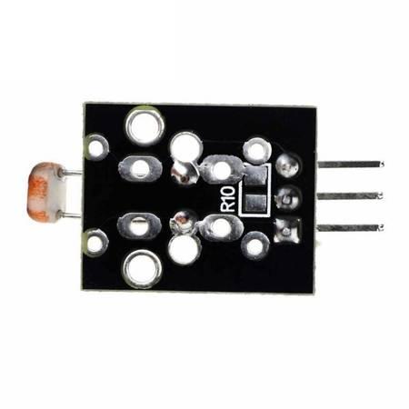 Czujnik światłoczuły KY-018 - Fotorezystor  - Moduł czujnika światła do Arduino