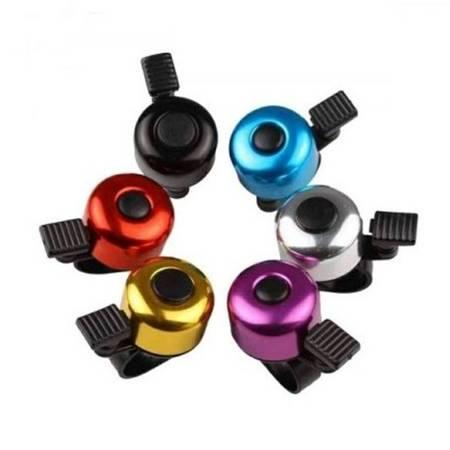 Dzwonek do roweru - mix kolorów - Dzwonki rowerowe