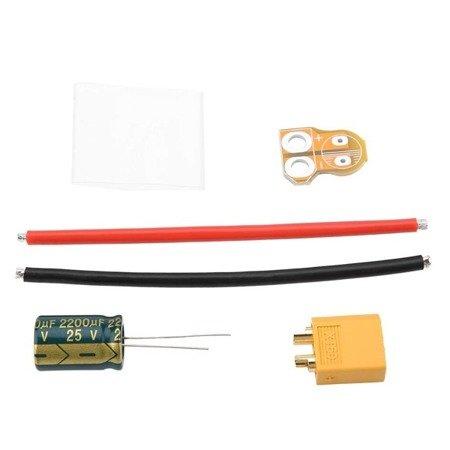 Filtr zasilania max 25V - 2200uF - XT60-CAP - Kondensator