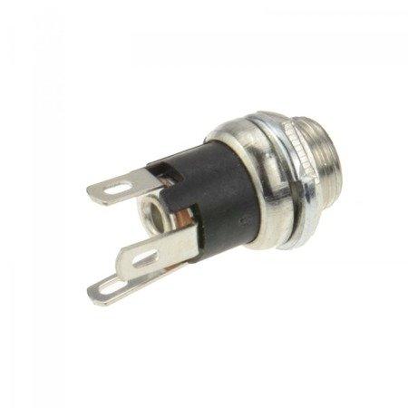 Gniazdo DC 2,1/5,5mm - do zalutowania ze stykiem rozłączającym