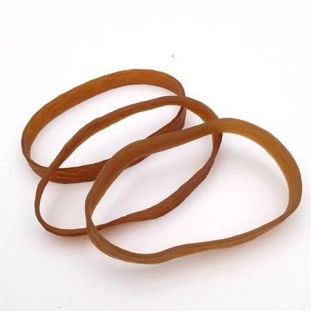 Guma modelarska - pierścień 200mm x 10mm - z silikonem - brązowa
