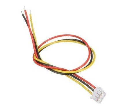 Kabel żeński z gniazdem Micro-JST-2.0 3PIN - raster 2.00mm - 20cm