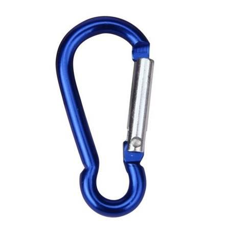 Karabińczyk do kluczy - Karabinek 48mm aluminiowy - mix kolorów - szekla - Survival