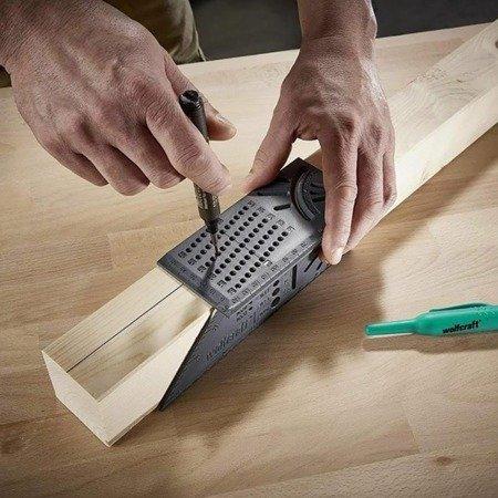Kątownik japoński stolarski 3D - narożny wielofunkcyjny przymiar kątowy
