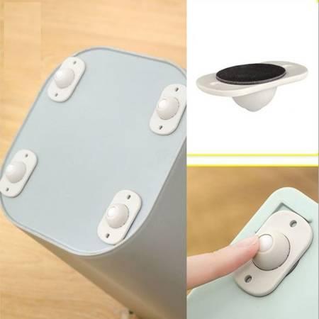 Kółka samoprzylepne - 4 szt - koła do pudełka skrzynki - rolki