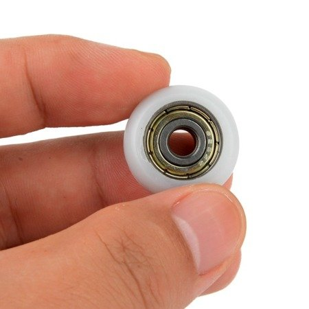 Koło prowadnicy 6x22x7mm - oś 6mm - nylonowe - Do dukarek 3D i maszyn
