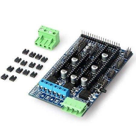 Kontroler RAMPS 1.5 RepRap - sterownik drukarki 3D - Shield Arduino  Drukarka 3D RepRap