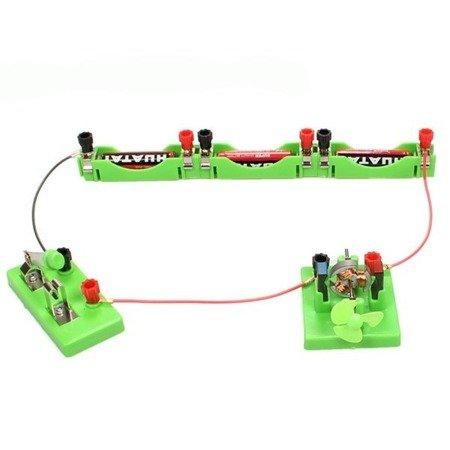 Koszyczek na baterie AA - do doświadczeń i budowy obwodów elektrycznych