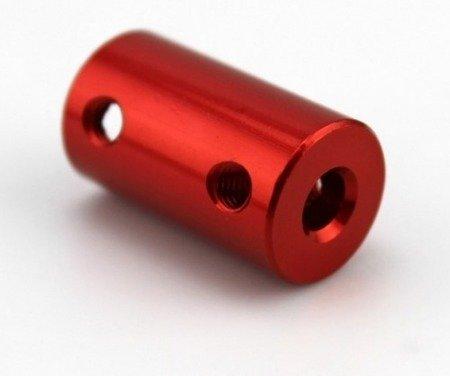 Łącznik osi - adapter z 5mm na 8mm - na wał silnika - oś