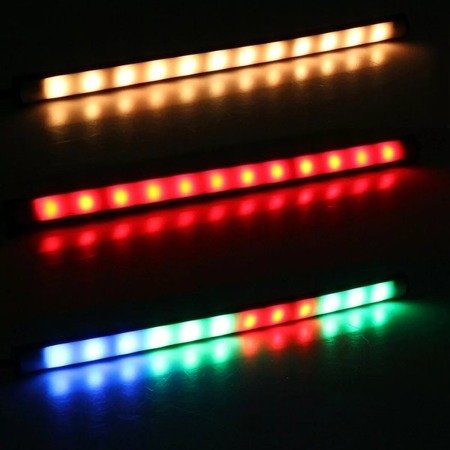 Lampa LED RGB - 12V 1.3W - Kolorowe oświetlenie - Kierunkowskaz - Żarówka