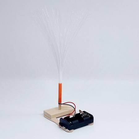 Lampka światłowodowa Ufo - DIY - Drewniana Zabawka Edukacyjna