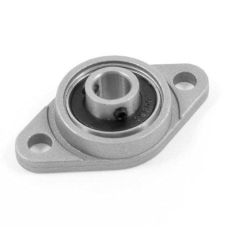 Łożysko samonastawne w aluminiowej obudowie - KFL000 - 10mm - podpora wałka
