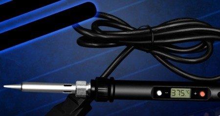 Lutownica z wyświetlaczem LCD - 60W - cyfrowa regulacja temperatury