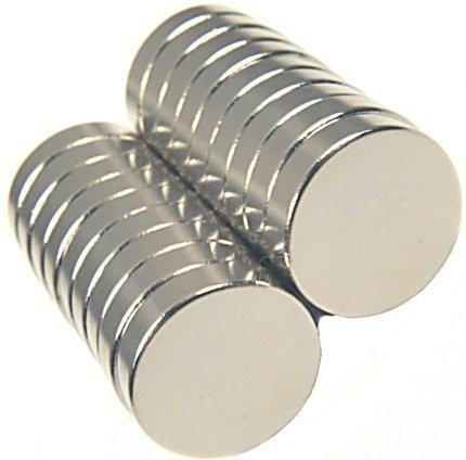 Magnes 6x3mm walcowy N38 - neodymowy