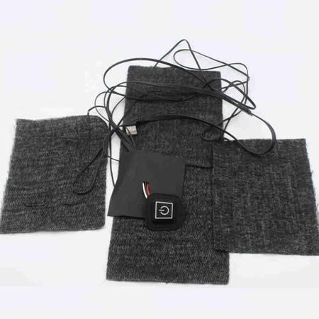 Mata grzewcza na USB 3szt - tkanina termiczna z włókna węglowego