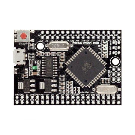 Mega 2560 PRO - CH340G - ATmega2560-16AU  - zgodny z Arduino