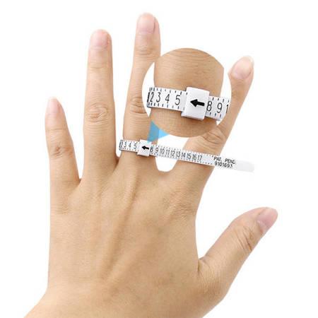 Miarka jubilerska do mierzenia rozmiaru pierścionka