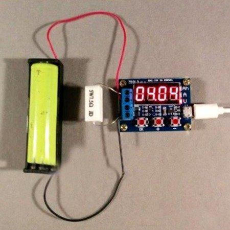 Miernik pojemności akumulatorów ZB2L3  15V -3A - do Ni-Mh, Ni,Cd, Li-Ion, Li-Pol, Li-Fe i innych