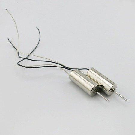 Mikro silnik szczotkowy 716 - 3,7V - CCW - 50.000 RPM - oś 8mm - 7x16mm ## KOMIS