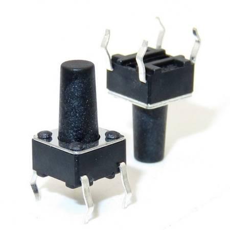 Mikrostyk TACT 6x6x12mm - mikroswitch - 10 szt