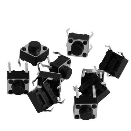 Mikrostyk TACT 6x6x4.3mm - mikroswitch - 10 szt