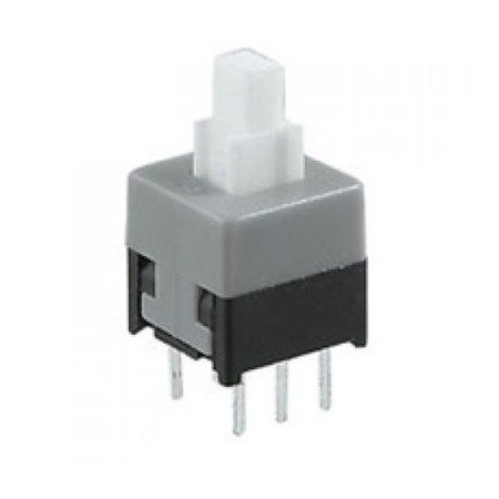 Mikroswitch 8.5x8.5mm - włącznik stabilny 6 PIN - push button - 10 szt