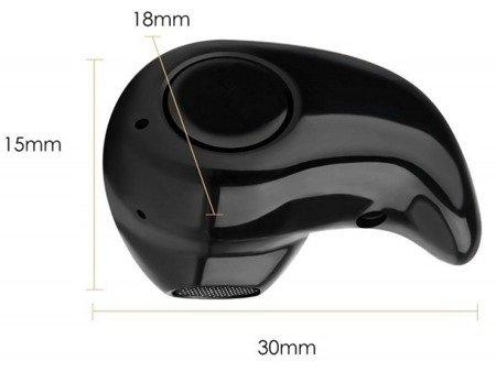 Mini słuchawka bezprzewodowa bluetooth 4.1 - zasięg 10m - wbudowana dioda LED