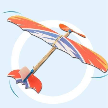 Model samolotu z napędem gumowym 410mm - Samolot dla dzieci - gumówka