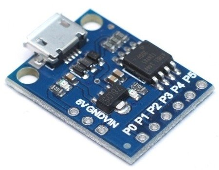 Moduł ATTINY85 Mini USB - zgodny z Arduino AVR - Digispark moduł sterowania AVR
