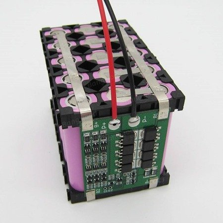 Moduł BMS PCM PCB ładowania Li-ion - balance 3S - 12V - 25A - do ogniw 18650