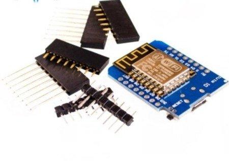 Moduł WiFi ESP8266 ESP12 Wemos D1 mini V2 + Micro USB programator CH340