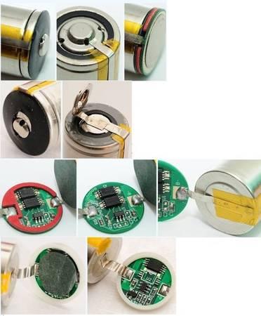 Moduł ładowania ogniwa 18650 1S 6A - zestaw zabezpieczający