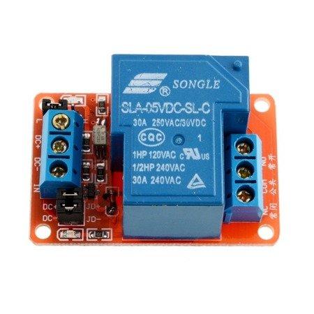 Moduł przekaźnika 30A 1-kanał - 5V - przekaźnik 30A - 250VAC / 30VDC