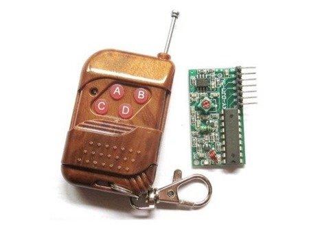Moduł radiowy - Pilot 4-kanały 315 MHz - zasięg 50m - 2262:2272 M4