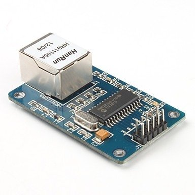 Moduł sieciowy ENC28J60 Ethernet - LAN - Arduino